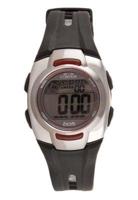 Relógio Cosmos OS48587V Preto