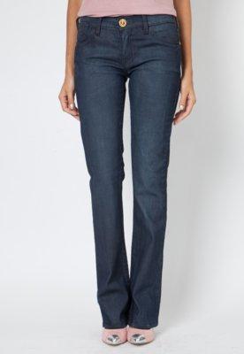 Calça Jeans Forum Reta Verônica Original Azul