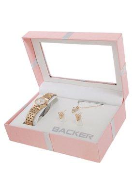 Relógio Backer W 15870022 Dourado