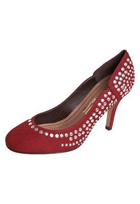 Sapato Scarpin Santa Lolla Hotfix Vermelho
