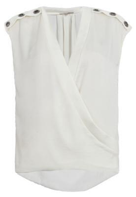 Blusa Shoulder Cachecoeur Branca