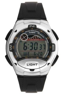 Relógio W-753-1AVDF Preto - Casio