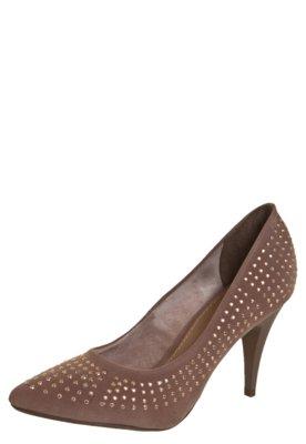 Sapato Scarpin FiveBlu Hotfix Bege