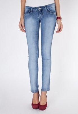 Calça Jeans Sawary Skinny Ly Monte Azul