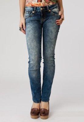 Calça Jeans Elástica Azul - Coca Cola Clothing
