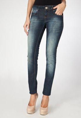 Calça Jeans Colcci Skinny Katy Power Stone Azul