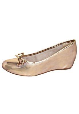 Sapato Scarpin Verniz Bronze - FiveBlu