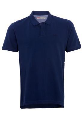 Camisa Polo Levi's Simple Azul - Levis