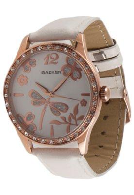 Relógio Backer W 3051112F Cobre