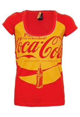 Blusa Coca-Cola Small Garrafa Vermelha - Coca Cola Clothing