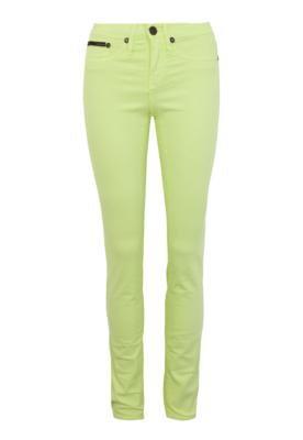 Calça Sarja Calvin Klein Jeans Skinny Power Color Verde