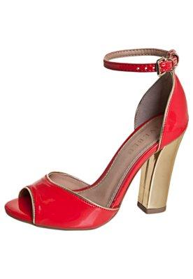 Sandália FiveBlu Detalhe Vermelha