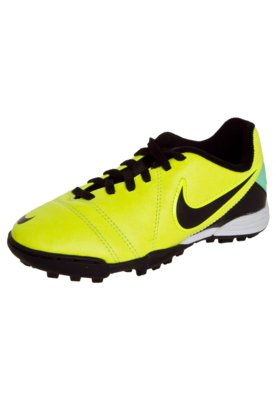 Chuteira Society Nike JR CTR360 Enganche III TF Amarela