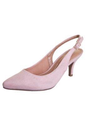Sapato Scarpin Vizzano Chanel Salto Médio Rosa