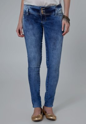 Calça Jeans Sawary Skinny Perfect Azul