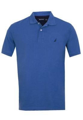 Camisa Polo Nautica Naut Azul