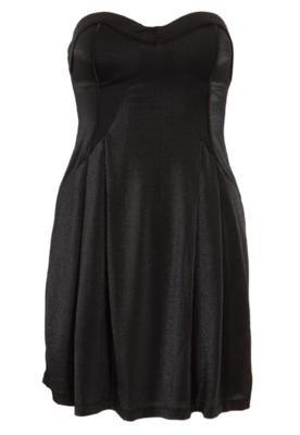 Vestido Triton Evasê Style Preto