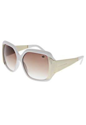Óculos Solar Lado Metal Branco - Carmim