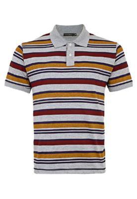 Camisa Polo Ideal Cinza - FiveBlu