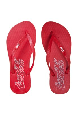 Sandália Coca-Cola Shoes Collors Vermelha - Coca Cola Shoes
