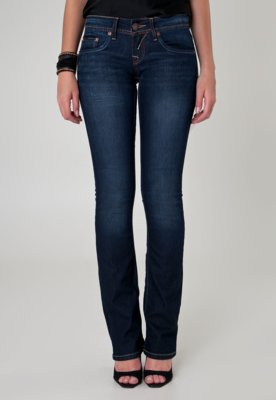 Calça Jeans Calvin Klein Jeans Reta Slim Pratic Azul