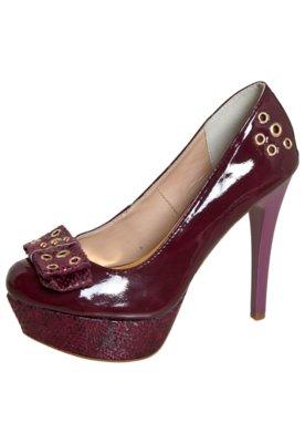 Sapato Scarpin Delicate Vinho - Pink Connection