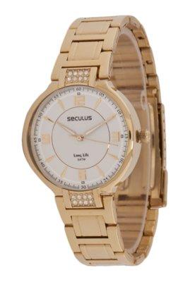 Relógio Seculus 28172LPSBDA1 Dourado