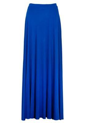 Saia Longa Afghan Color Azul