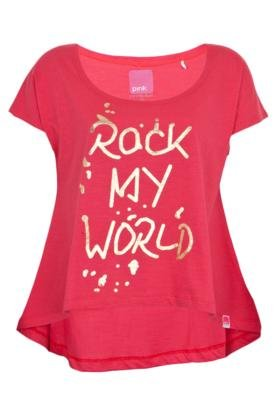 Blusa Pink Connection Rock Vermelha