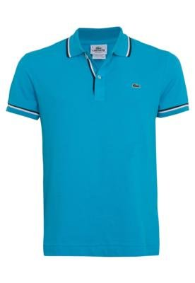 Camisa Polo Lacoste Life Azul