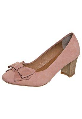 Sapato Scarpin FiveBlu Laço Rosa