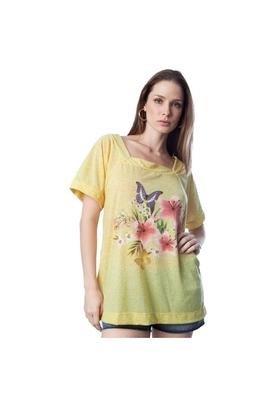 Blusa Postal Amarela - Mercatto
