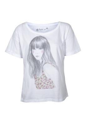 Blusa Girl Branca - Dzarm