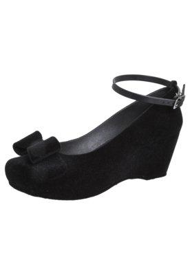 Sapato Scarpin Five Blu Laço Preto - FiveBlu