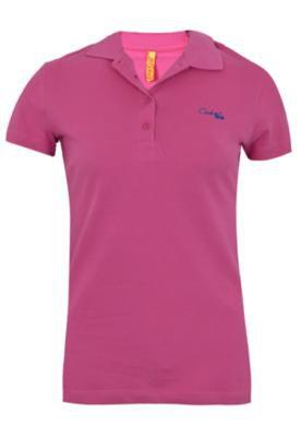 Camisa Polo Coca-Cola Clothing Small Authentic Rosa - Coca C...