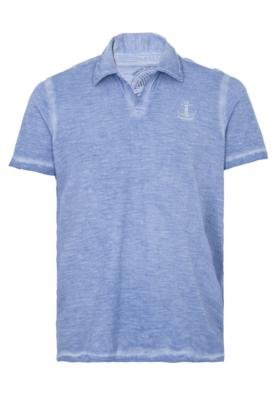 Camisa Polo Carmim Ocean Azul