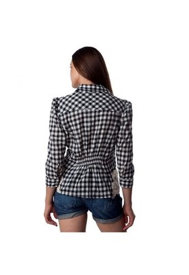 Camisa Manga Xadrez - Shop 126