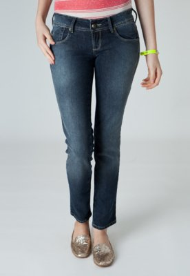 Calça Jeans Coca Cola Edna Skinny Azul - Coca Cola Clothing