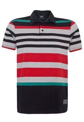 Camisa Polo Lee Melvin Stripe Listra