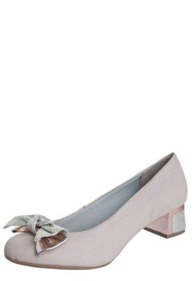 Sapato Scarpin Pink Connection Laço Nude