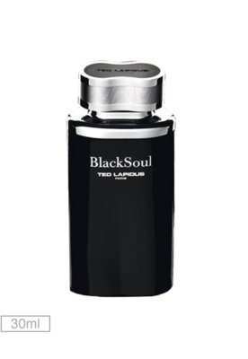 Eau De Toilette Ted Lapidus Black Soul 30ml - Perfume - Ted ...