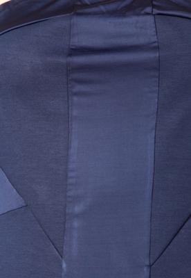 Vestido Forum Slim Recortes Azul