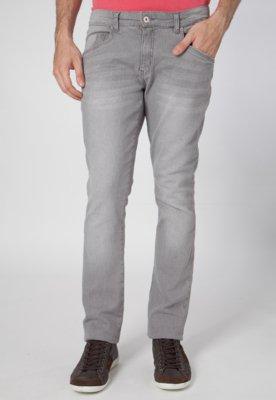Calça Jeans Reta Lucca Salvatore Basic Cinza