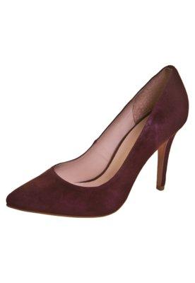 Sapato Scarpin Camurça Vinho - Anamac