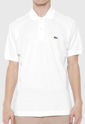 Camisa Polo Live Branca - Lacoste