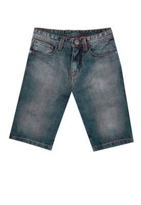 Bermuda Jeans Billabong Class Wall Infantil Azul
