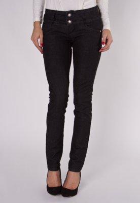 Calça Jeans Cigarrete Skinny Osmoze Preta
