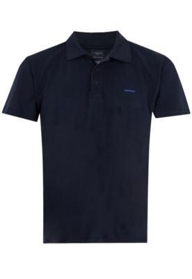 Camisa Polo Sommer Mini Color Bordado Azul