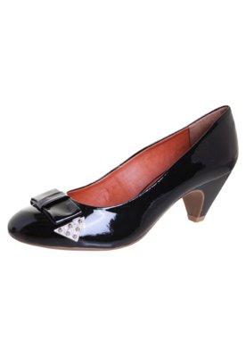 Sapato Scarpin Laço Preto - Loucos e Santos
