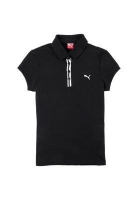Camisa Pólo Classic Preta - Puma